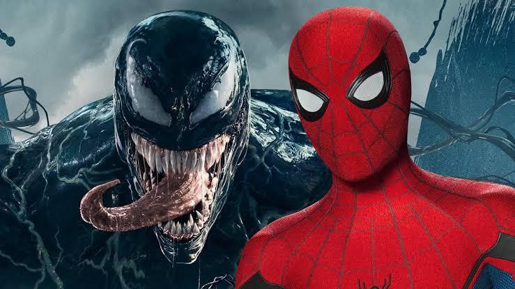 Tom Holland Spiderman in Venom 2