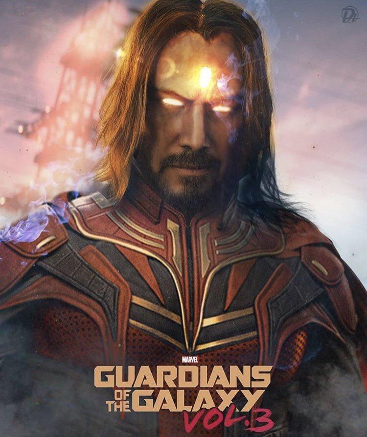 Marvel DC eying keanu