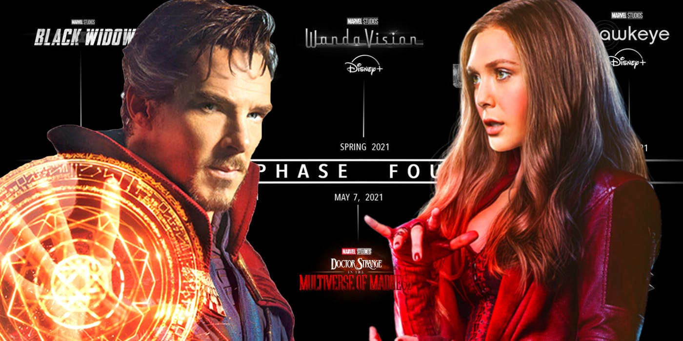 WandaVision connects to Doctor Strange 2