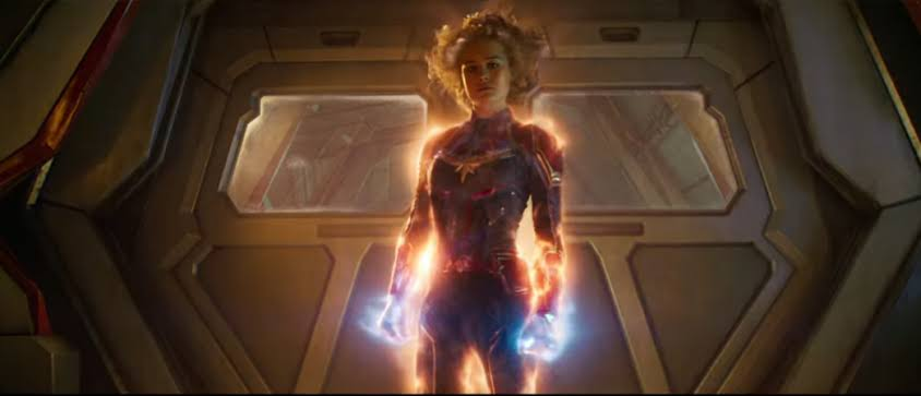 captain marvel energy projection