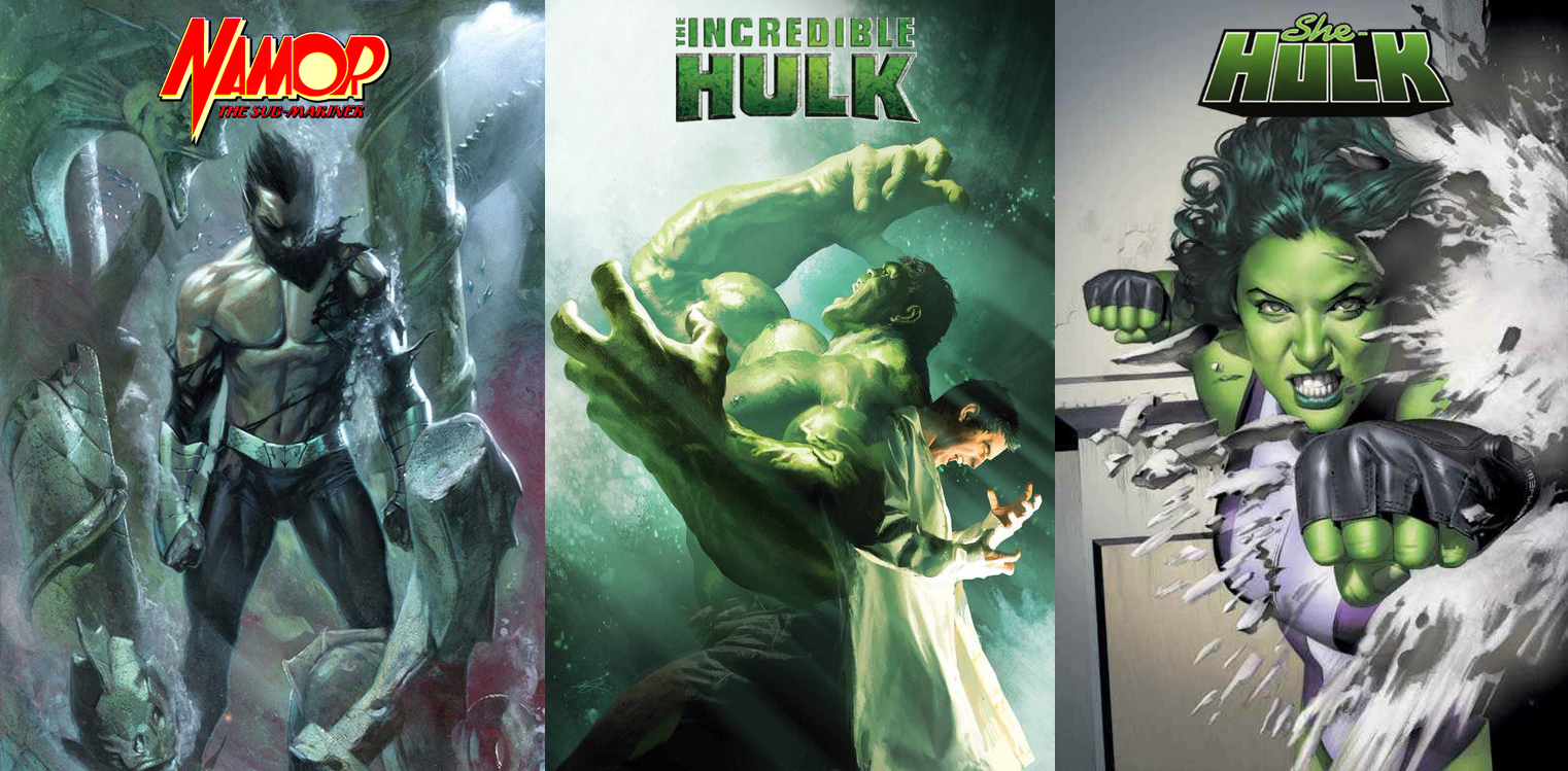 Marvel acquired full rights of Hulk and Namor