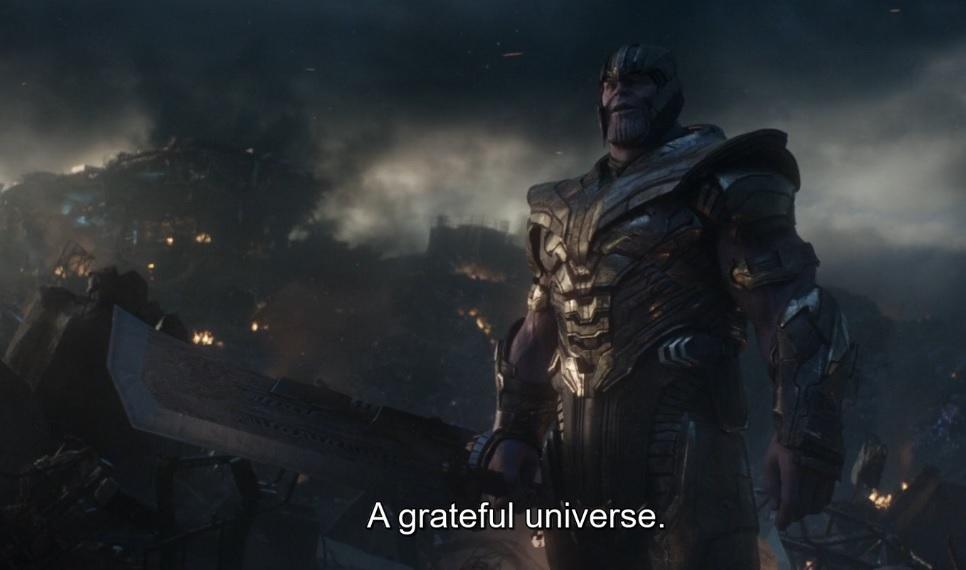 A Grateful Universe