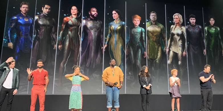 The Eternals characters and cast