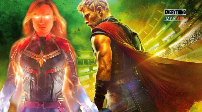 thor vs captain marvel