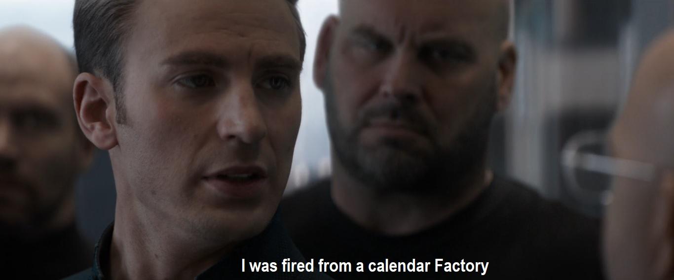 Captain America dad joke meme