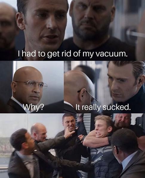 Vacuum Sucked meme