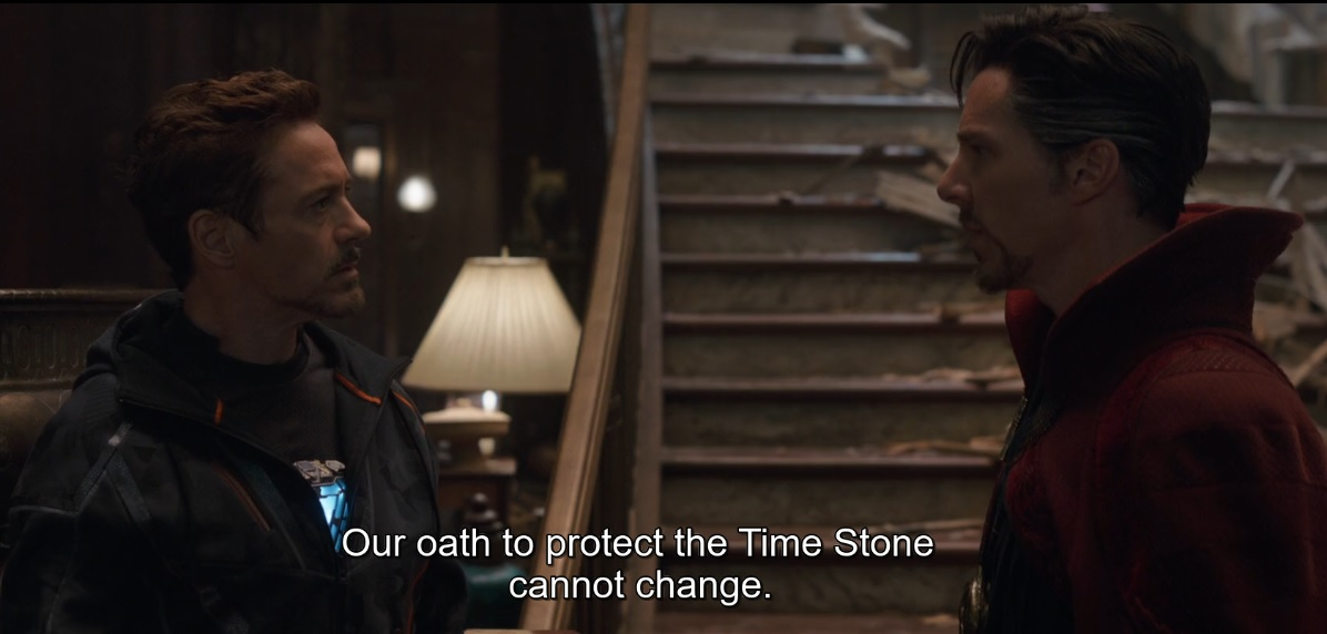 dr strange oath to protect the Time Stone