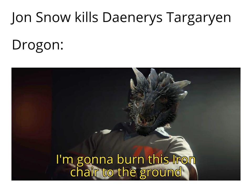 Drogon and Loki meme