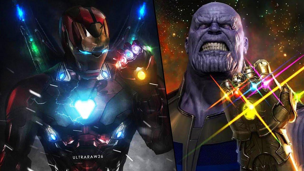 Thanos Gauntlet vs Iron Man gauntlet