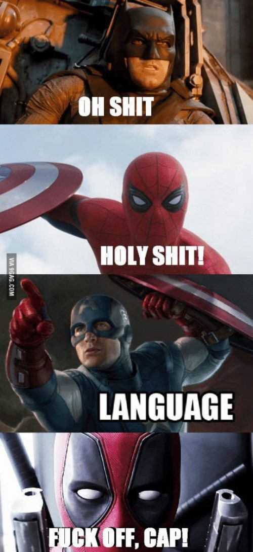 Deadpool language