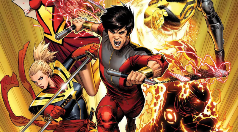 shang chi cover