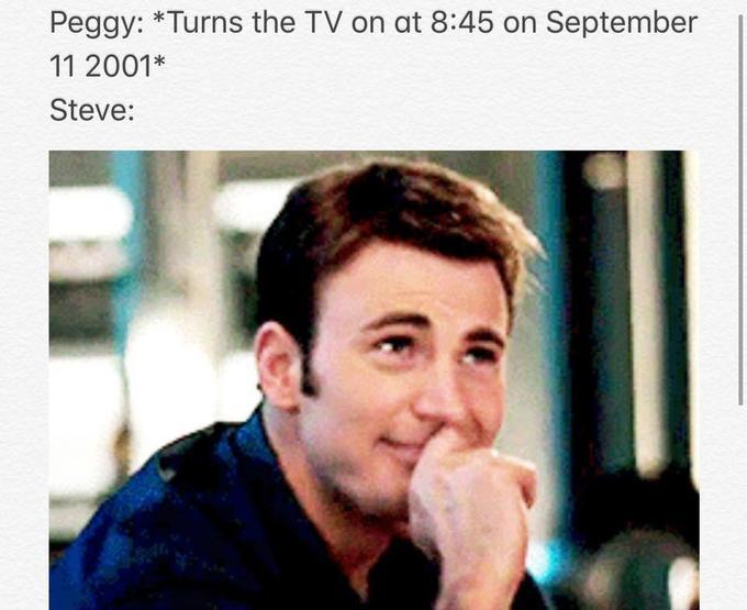 Nine eleven captain america meme