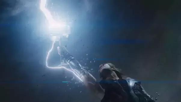 Mjolnir summons lightning