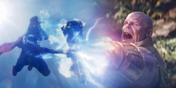 Stormbreaker summons lightning