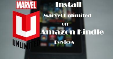 marvel unlimited on amazon kindle