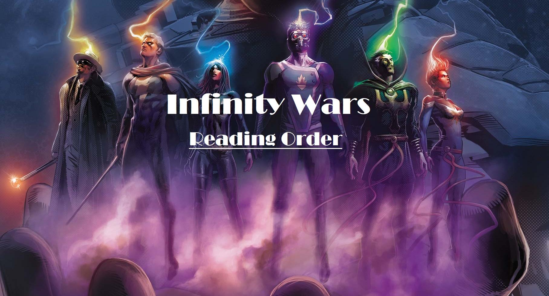 infinity wars reading order