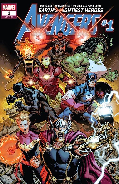 Avengers vol8 #1