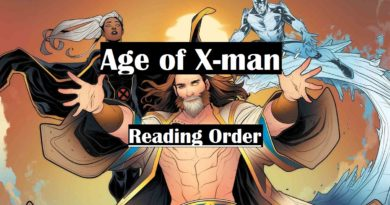 Age of x-man reading order
