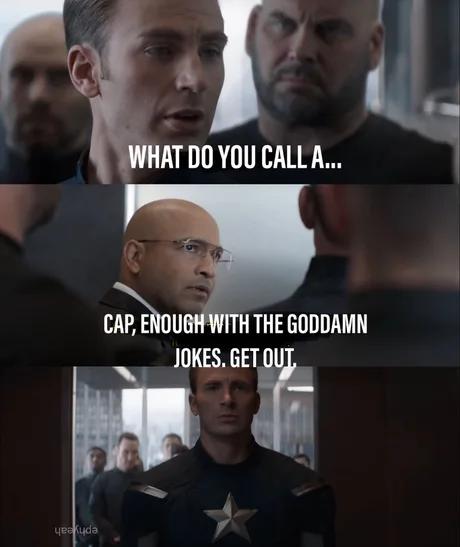 enough of your dad jokes cap