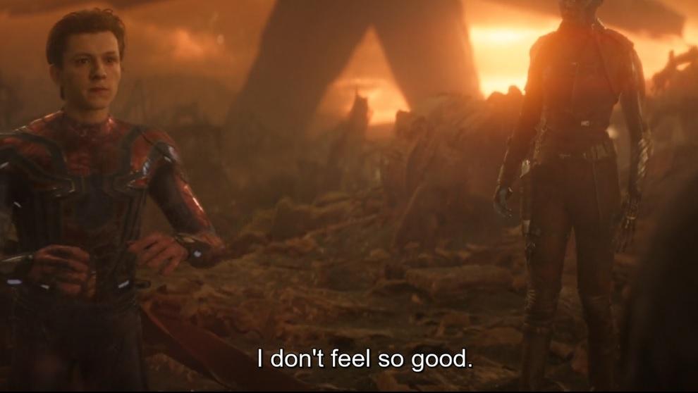 Mr. Stark I don't feel so good