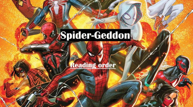 spider geddon reading order