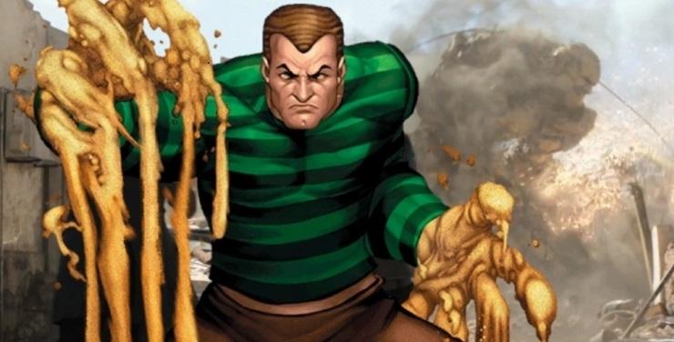 sandman spider-man villain